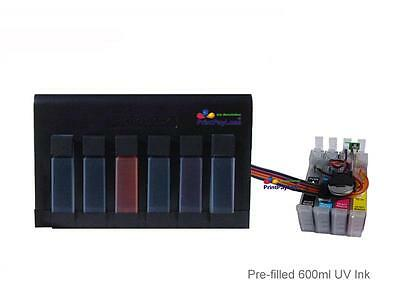 600ml Ink System Patented CISS CIS for Epson 252/XL(NonOEM) WF-7620 WF-7110 T252 (Epson 7620 Cis)