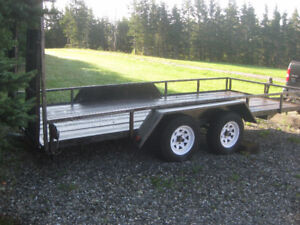 Utility Trailer - 16 x 7 ft bed