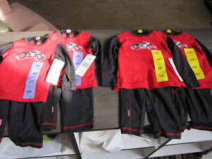 Kushies, Boys 3 Month & 6 Month, 2-pc, BNWT