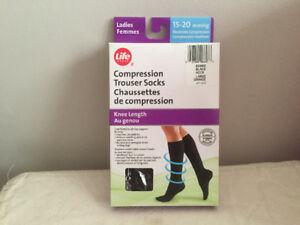 Ladies Compression Trouser Socks - Brand New in Box