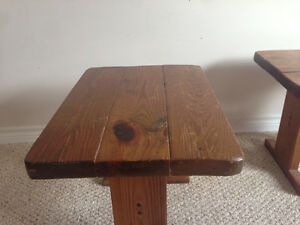 Solid wood end table Kingston Kingston Area image 4