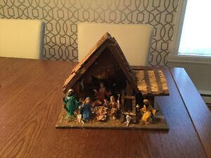 Belle crèche de Noel
