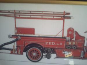 1916 SEAGRAVE PUMPER print