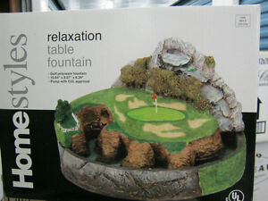 TABLE TOP  FOUNTAIN NEW  & MORE precious moments  new