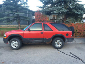 1999 Chevrolet Blazer Ls Coupe (2 door)