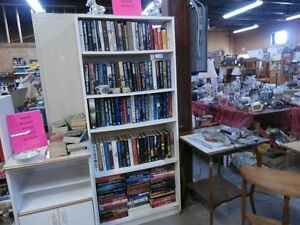 Books at Carson's Flea Market $1 to $2 or less