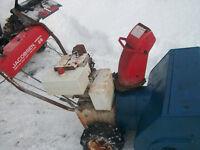 Jacobsen Snowblower - no spark
