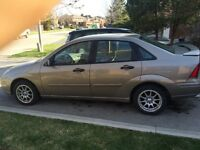 2004 Ford Focus zts need gone
