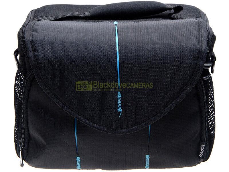 Borsa per attrezzatura fotografica impermeabile Hama, cm. 12x18x22 (interno).