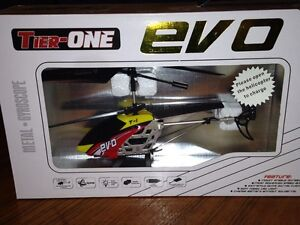 Brand new. Never opened. Evo T1 Toy Helicopter with remote London Ontario image 6
