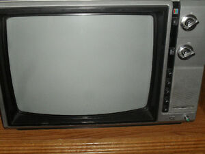 antique Colored Televisions -small 17 inch