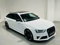 AUDI RS4 AVANT 4.2 V8 FSI QUATTRO WHITE 2014 64 ESTATE 444 BHP PETROL AUTO
