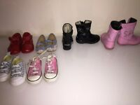 Lellie Kelly boots 2 trainers 1 dolly 1 shoes