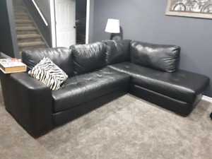 Black  Couch NEED GONE