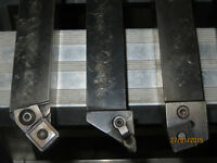 LATHE TOOL HOLDERS WITH INSERTS