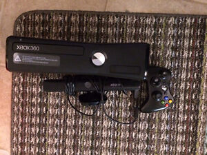 XBOX 360 S with Kinect, 250 GB storage added, 1 controller, HDMI