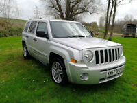2007 57 Jeep Patriot LIMITED 2.0 CRD VW DIESEL ENGINE GREAT SPEC FULL LEATHER