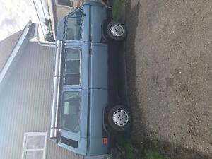 1987 Volkswagen Other Blue Minivan, Van