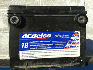630 CCA AC Delco car battery