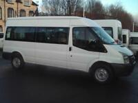 FORD TRANSIT 8 SEAT WHEELCHAIR ACCESSIBLE DISABILITY MINIBUS TACHOGRAPH