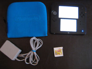 Nintendo 2DS with game
