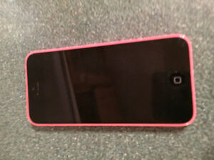 pink iphone 5c-32GB ( ROGER)