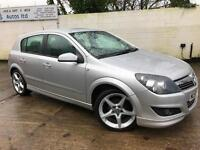Vauxhall 2009 Astra SRI EXTERIOR PACK 1.8i 16v Petrol Manual Hatch in Silver