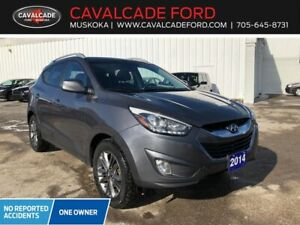2014 Hyundai Tucson GLS FWD moonroof, htd frt & rear seats!!