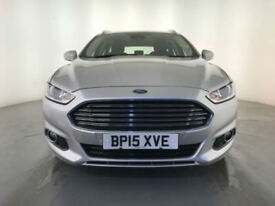 2015 FORD MONDEO TITANIUM TDCI DIESEL ESTATE 1 OWNER SERVICE HISTORY