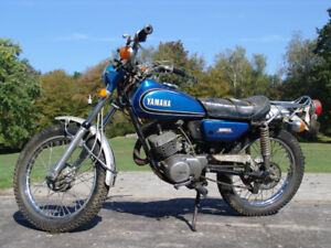 Moto Yamaha ANTIQUE