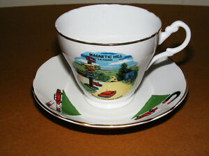 Vintage Magnetic Hill Cup and Saucer
