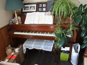 Gerhard Heintzman Upright Piano For Sale - $300.00