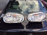 Volkswagen Golf mk4 headlights