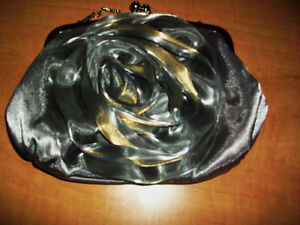 Beautiful silver-gold evening purse