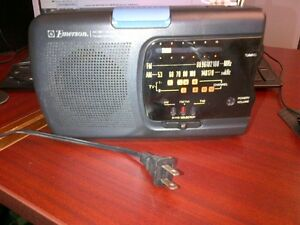 Emerson Instant Weather/TV Sound/AM FM Portable Radio