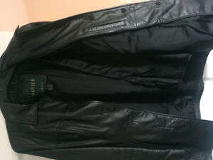 Leather black DANIER jacket new with