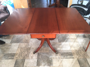 Antique Duncan Phyfe Table w/ 4 chairs