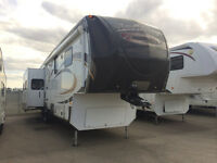 2012 INFINITY 3640RL FULL WINTER PACKAGE WITH 4 SLIDE OUTS