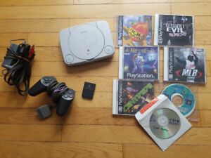 Playstation 1 PS1 Slim Modded
