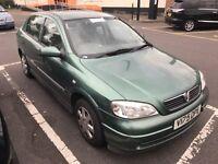 Vauxhall astra. Auto. Mot. TAX. PERFECT DRIVE WARRANTY GUARANTEED LOW MILES 77,000