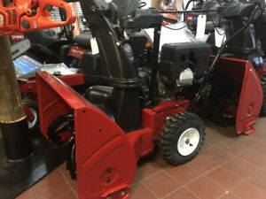 New Snowblowers in stock