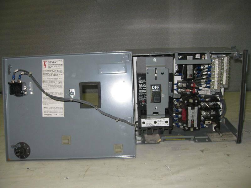 Cutler Hammer F10 Unitrol Size 1 MCC Bucket 3A CH Sz1 F-10 3 Amp MCCB