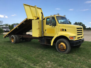 1998 Ford 3 Ton with tilt deck