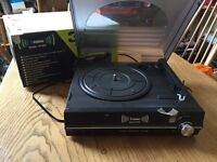 Nearly new Steepletone 3spd all in one record player