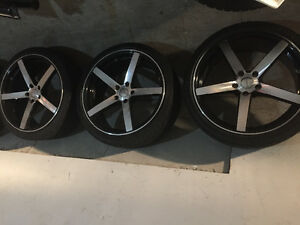 VOSSEN TIRES AND RIMS PRICED TO GO PRICE GOES UP IN SPRING