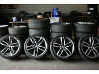 "21"" RS6-C style alloys for an Audi Q5"