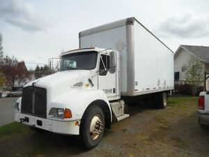 Kenworth T 300  5 Ton 24 ft box