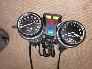 1982 Honda GL500 speedo tach and indicator lights excellent