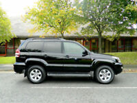 2009 Toyota Land Cruiser 3.0 D-4D Invincible 5dr WITH TOP SPEC+FSH+LOW MILES!++