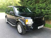 2009 LAND ROVER DISCOVERY 3 SE 2.7 TDV6 AUTOMATIC 4X4 7 SEATER TURBO DIESEL
